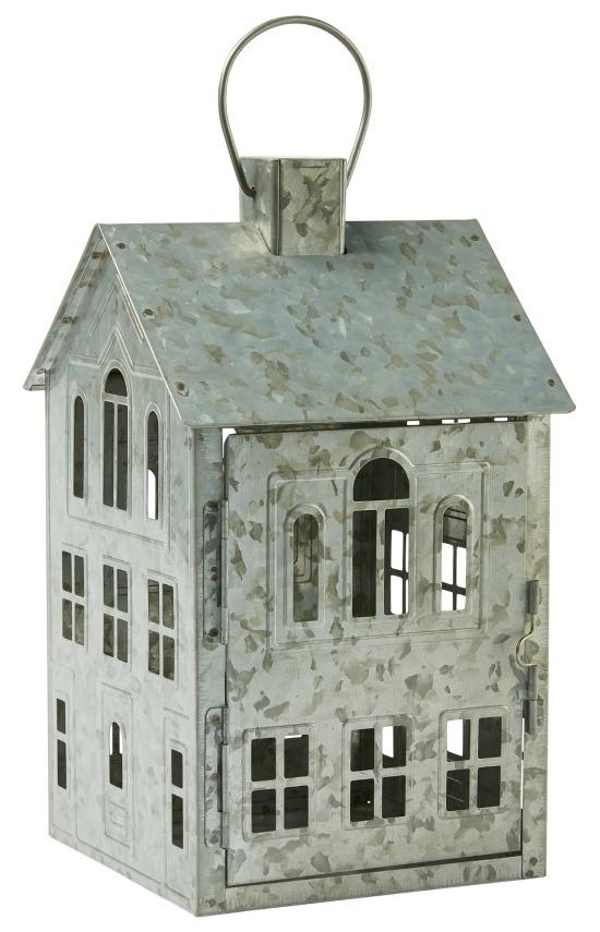 Better Homes & Gardens Galvanized House Candle Holder Lantern