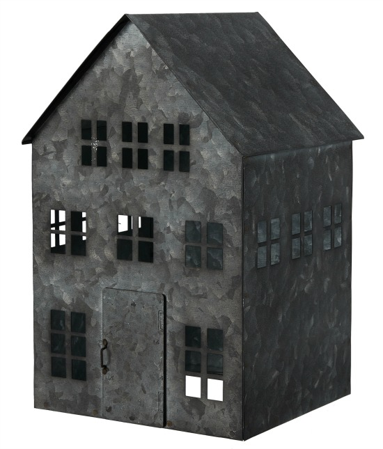 Distressed Metal House