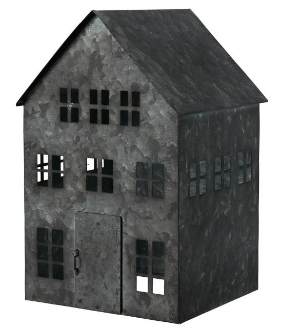 Distressed Metal House