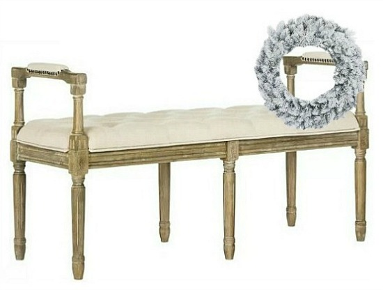 foyer-bench-with-wreath