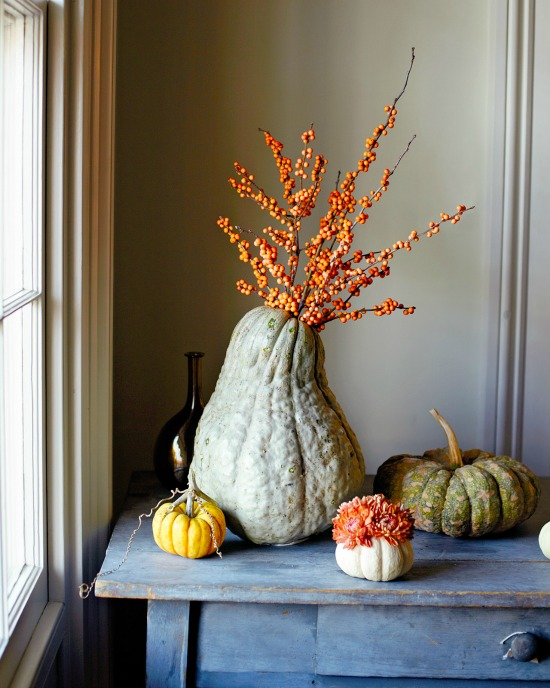 naturally striking fall arrangements