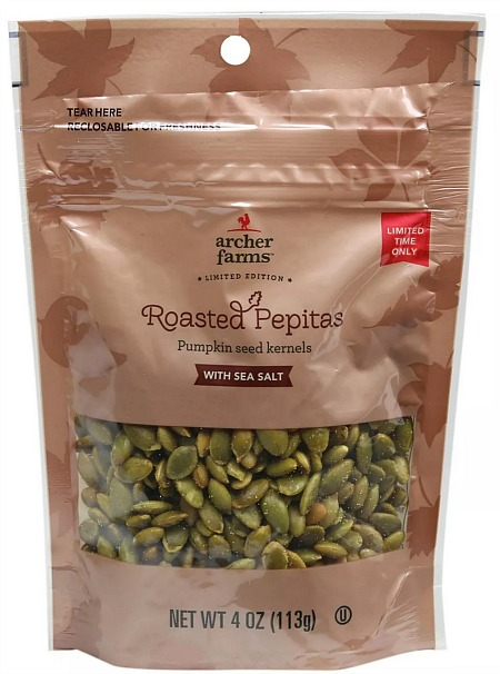 Roasted Pepitas Pumpkin Seed Kernels with Sea Salt
