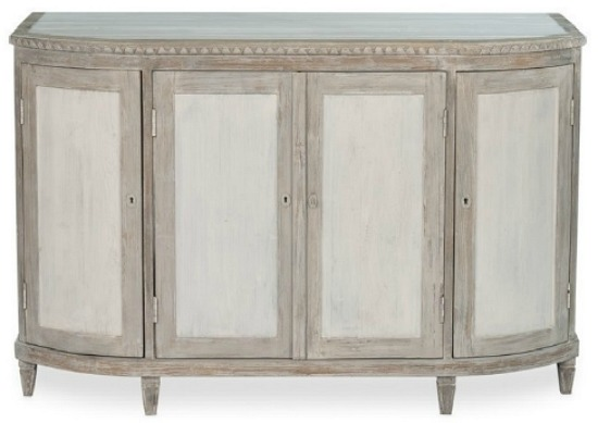 Audrey Gray White Pine Sideboard