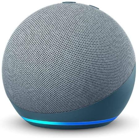 All-new Echo Dot (4th Gen) Smart speaker with Alexa in Twilight Blue