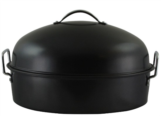 Gibson Home Kenmar High Dome Oval Roaster Set