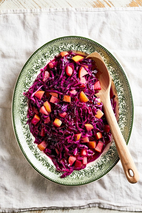 Pressure Cooker Sweet-and-Sour Cabbage
