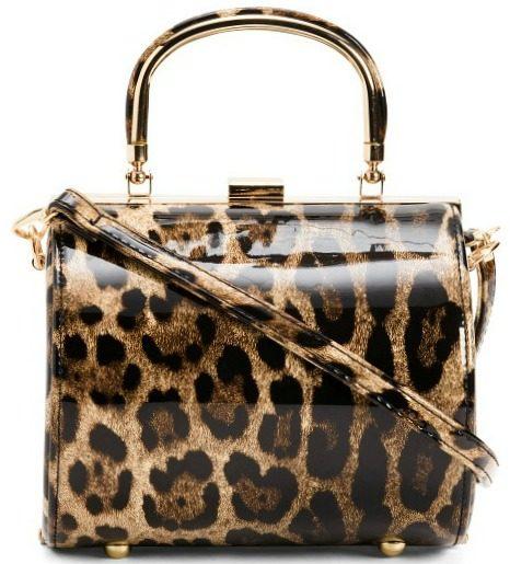 Framed Leopard Day To Evening Bag1