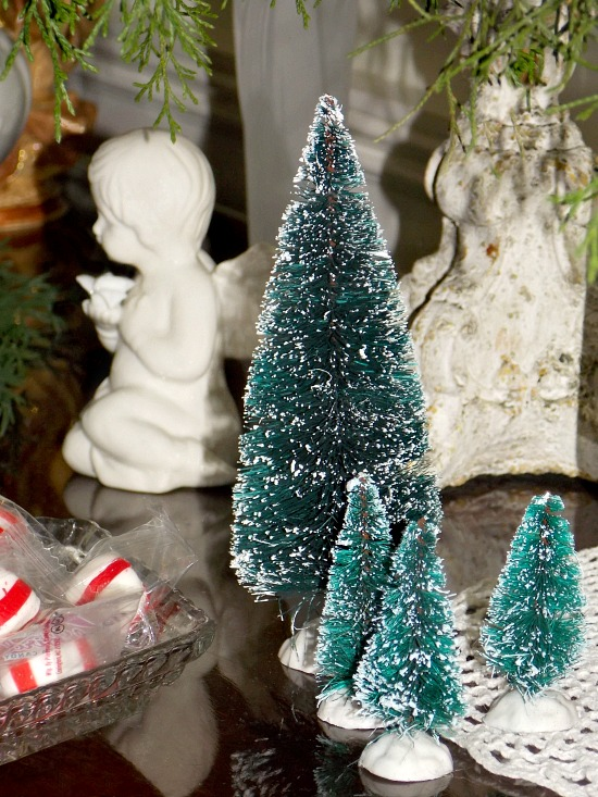 bottle-brush-Christmas-trees