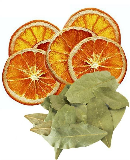 dried-orange-slices-bay-leaves