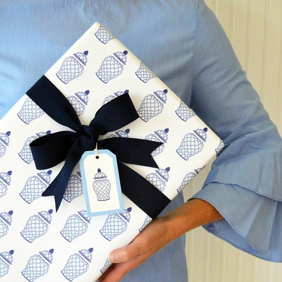 geometric_jar_gift_wrap