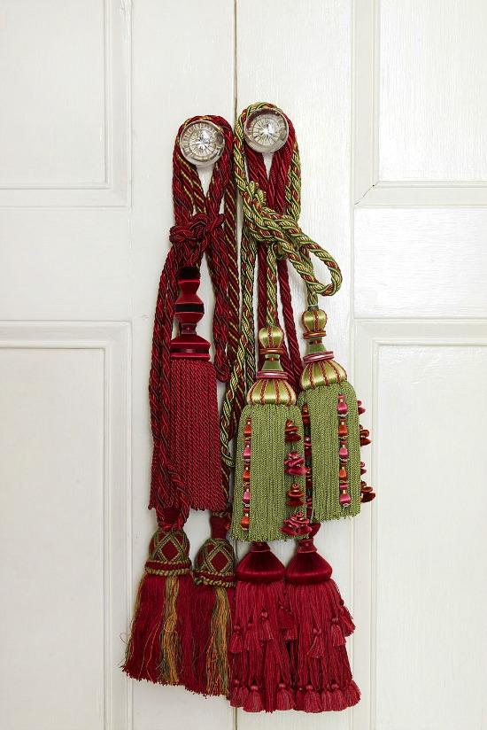 tassels-on-door-knob