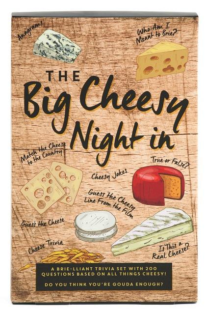 the big cheesy night in