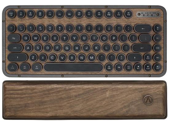 Azio Retro Wireless Keyboard, Compact, Elwood