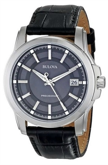 Bulova Men's Precisionist Leather Strap Watch