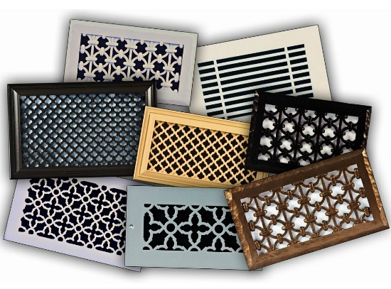 Decorative Resin Wall or Ceiling Vent Covers