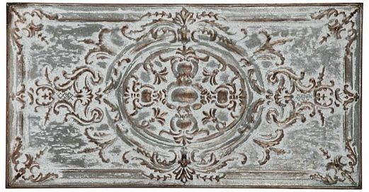 Embossed Medallion Metal Wall Decor