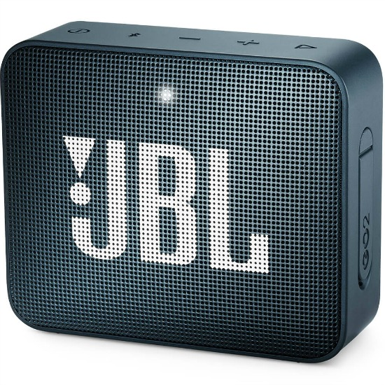JBL GO 2 Bluetooth Portable Waterproof Speaker - Navy