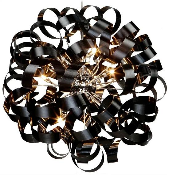 Juliet 12 - Light Unique / Statement Globe Chandelier