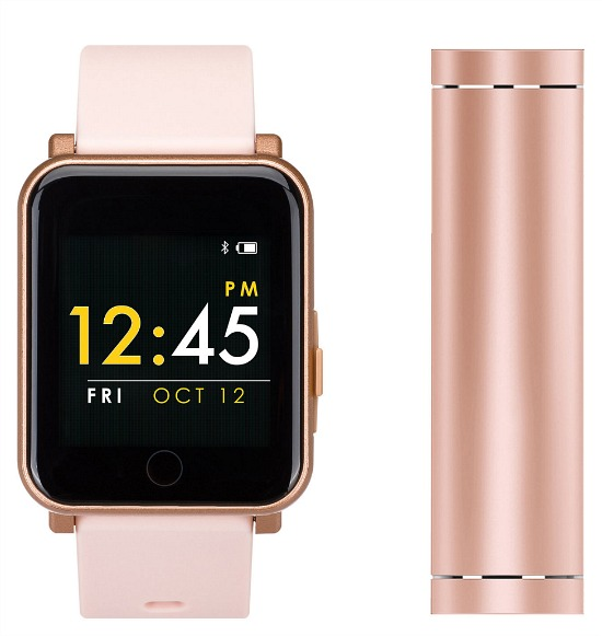 Q7 Sport With Power Bank Womens Multi-Function Pink Smart Watch