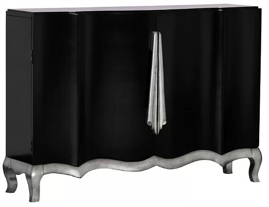 Riegel Ribbon-Inspired 2 Door Accent Cabinet