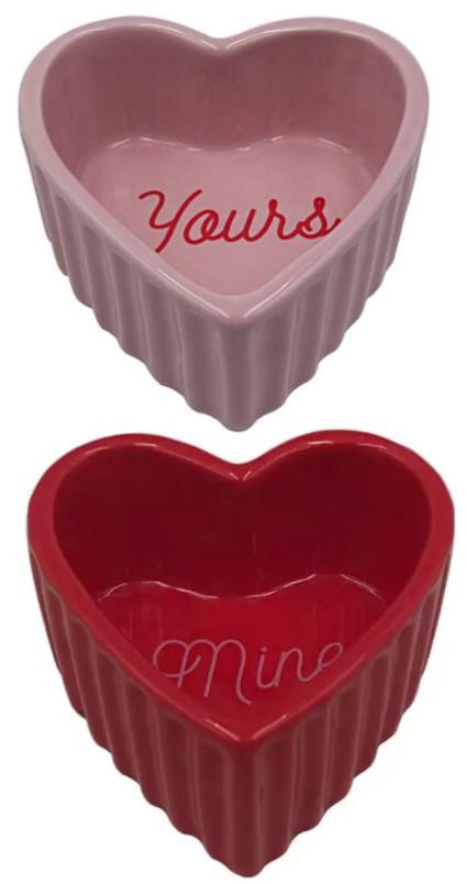 Valentine's Day Mini Heart Shaped Ramekin