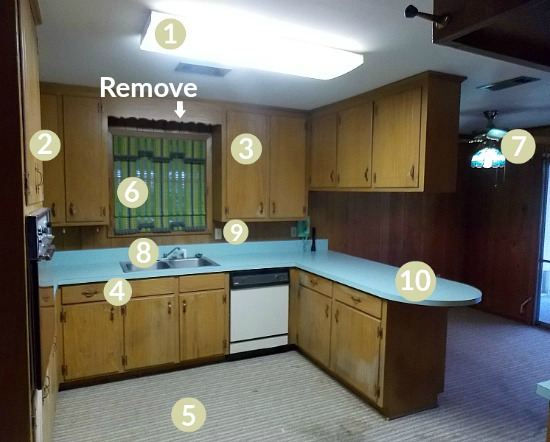 flip house kitchen remodel update remove