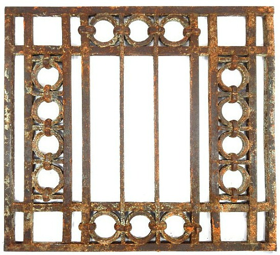 ornamental gate architectural iron