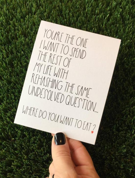 valentine's day card Etsy