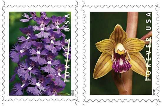 Orchid-USPS-stamps-2020