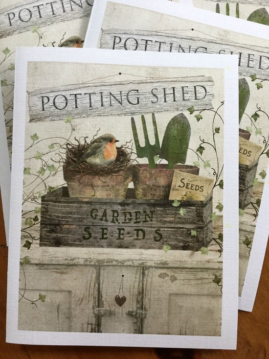 Potting Shed Note Cards