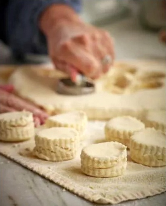 Regina's butter biscuits