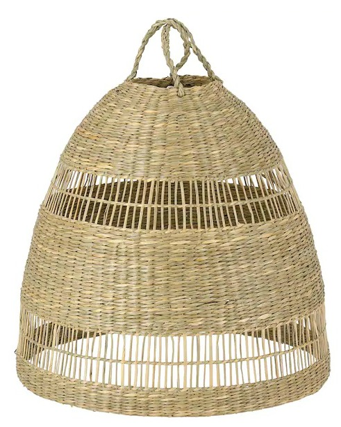 "TORARED Pendant lamp shade, seagrass, 14 """