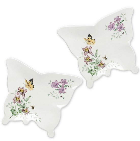 Lenox® Butterfly Meadow® Melamine Small Butterfly Trays (Set of 2)