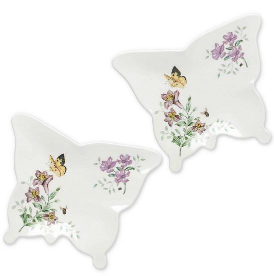 Lenox® Butterfly Meadow® Melamine Small Butterfly Trays (Set of 2)