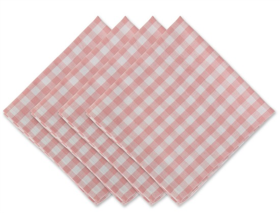 pink-white-gingham-napkins