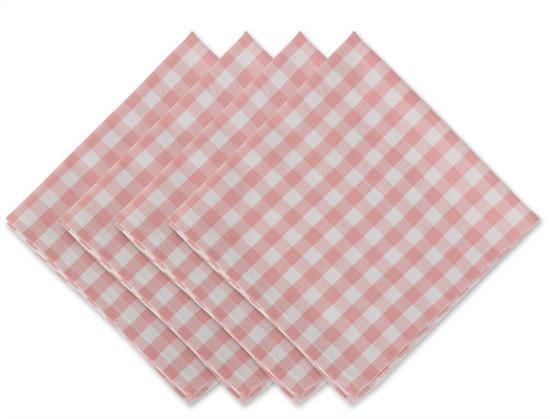pink-white-gingham-napkins