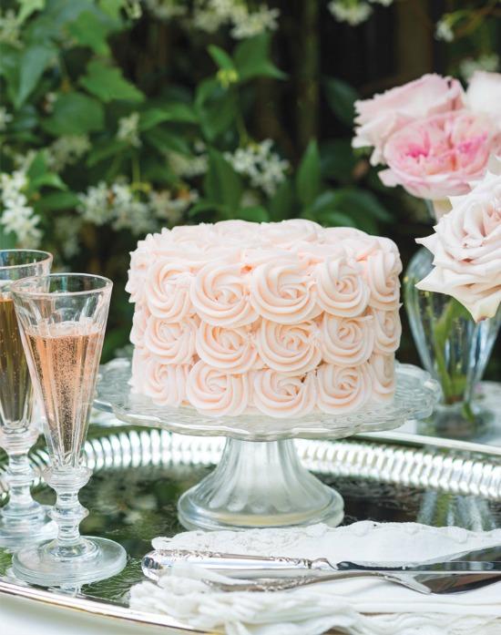 rose and lemon cake