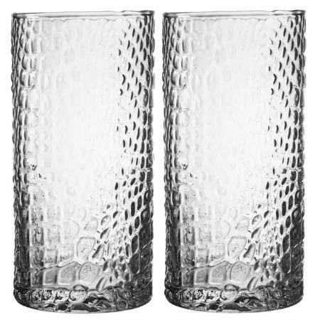 Bistro Croc 16 oz. Highball Glass (Set of 4)
