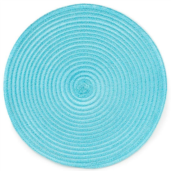 Blue Embroidered Placemat