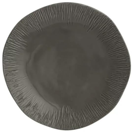 Graffiata Grey Dinnerware