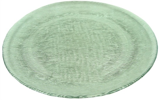 "Struthers 10.5"" Glass Dinner Plate (Set of 12)"