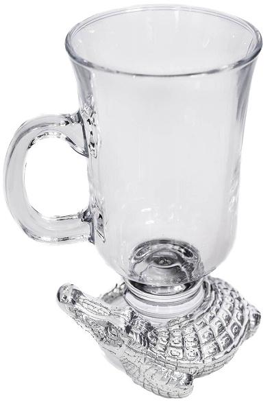 Alligator Glass Mug
