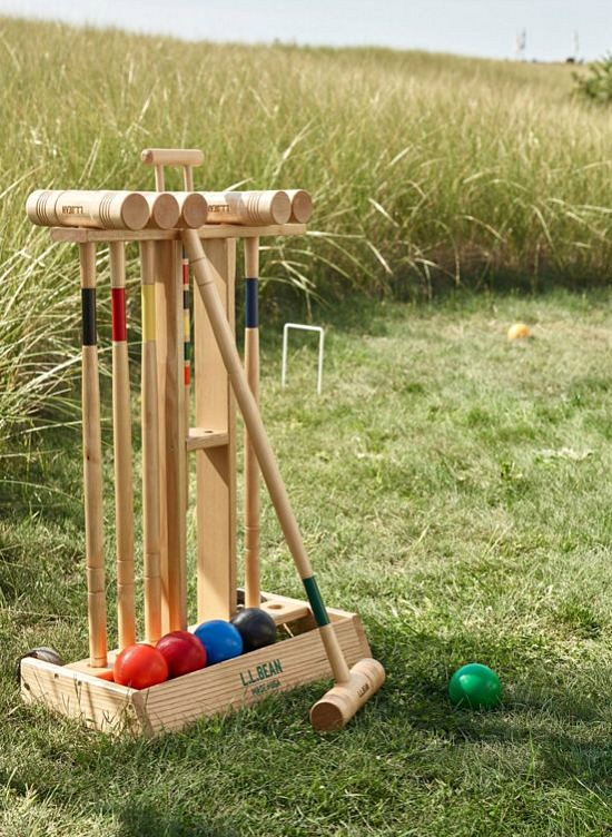 Maine Coast Croquet Stand