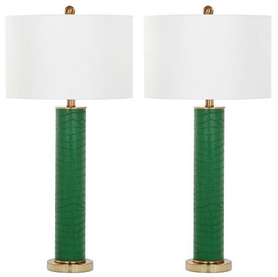 Ollie Ceramic Table Lamp Set of 2 - Safavieh