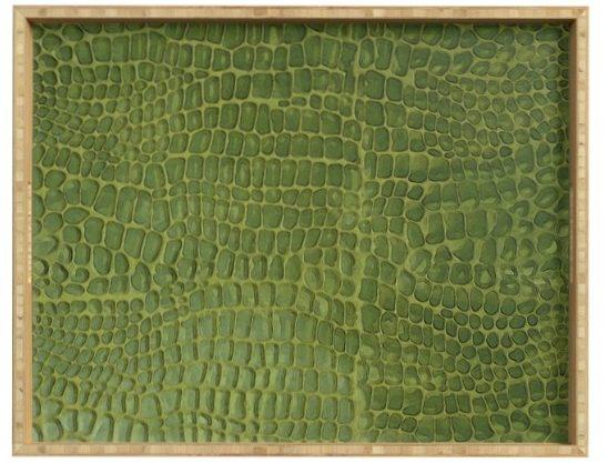 Alligator Skin Serving Tray