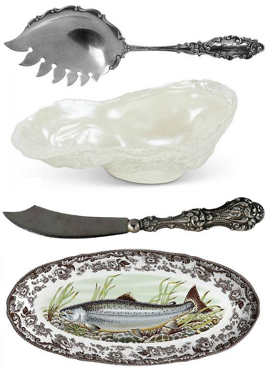 vintage-silver-seafood-serving-pieces