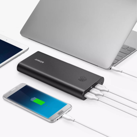 Anker PowerCore+ 26800mAh 3-port Quick Charge 3.0 Power Bank