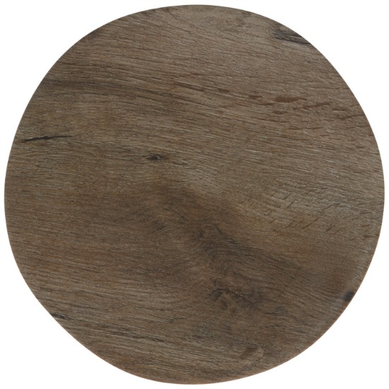 Brown Wood Look Plate