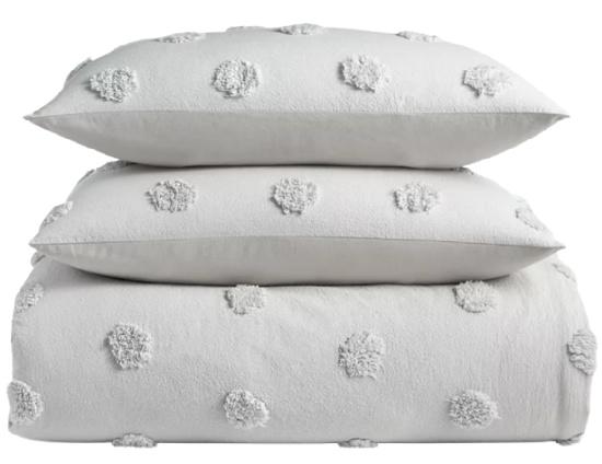 Chenille Dot 2-Pc. TwinTwin XL Comforter Set