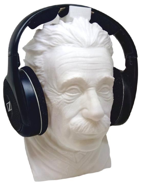 Einstein Headphone Stand